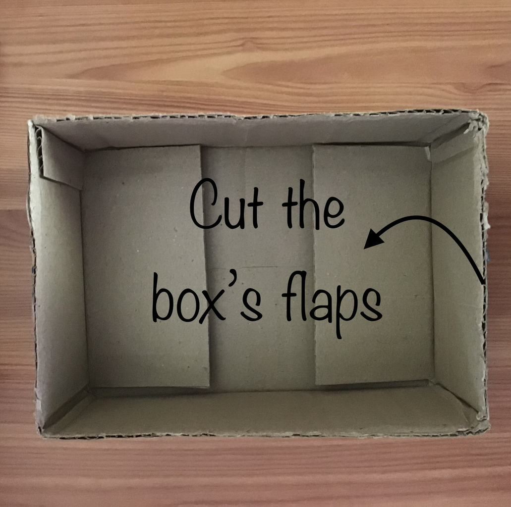 Prepare Your Box and the Tube to Insert