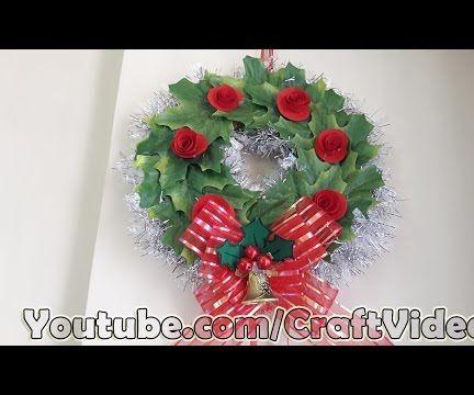 How to make Christmas Wreaths