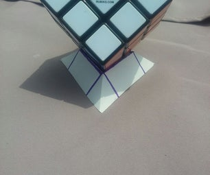 Origami Rubiks Cube Stand