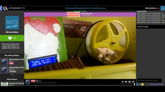 Creating the Internet Controlled Hamster
