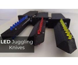 LED Juggling Knives