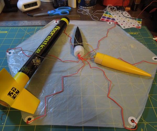 DIY Model Rocket Parachute