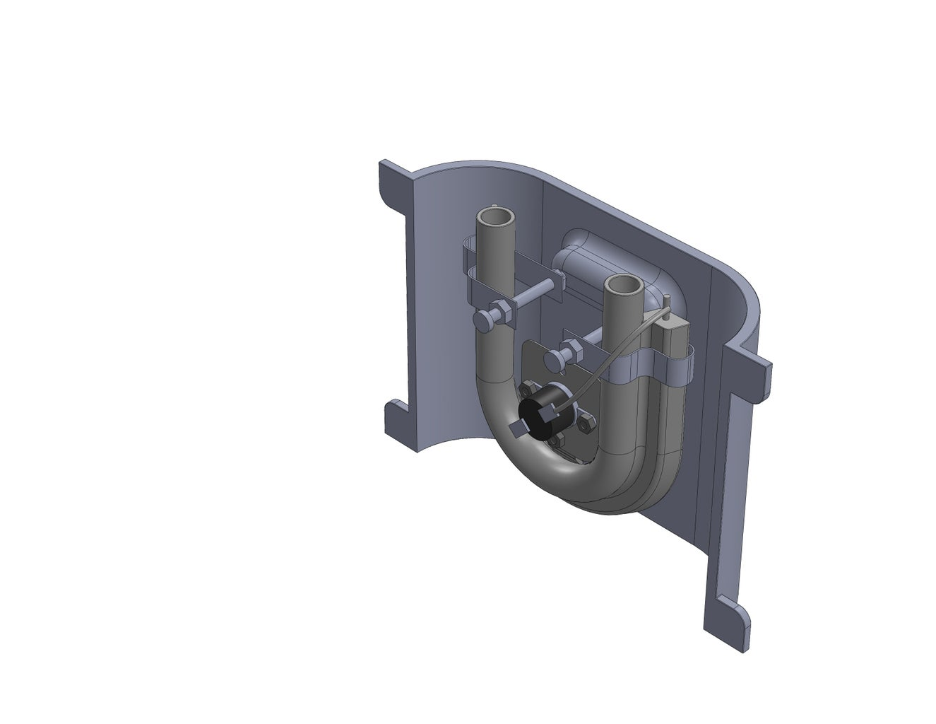 Tap Holes in Aluminum Part and Fix Heat Element