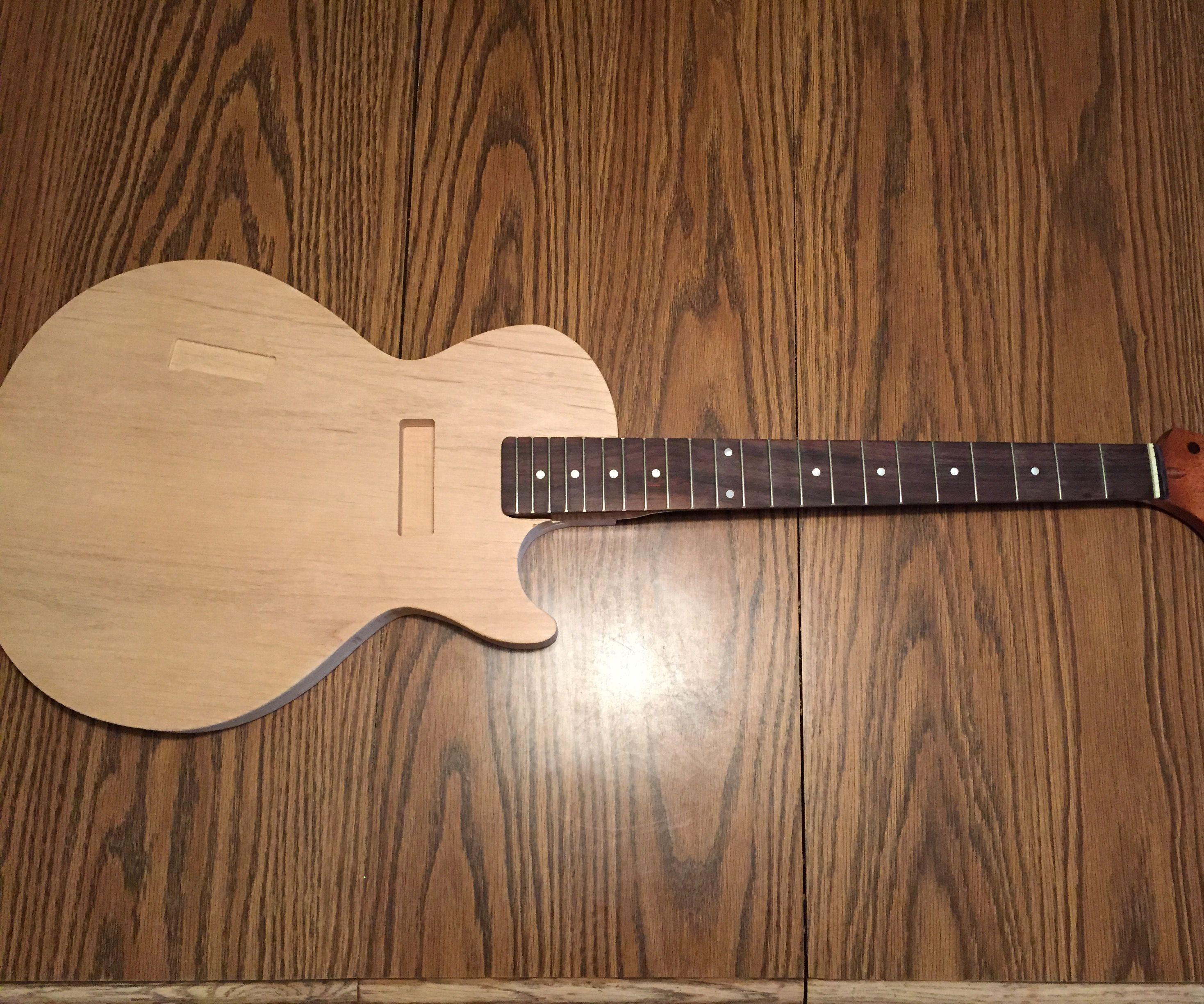DIY Custom Guitar