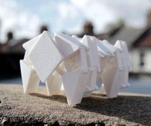 Strandbeest Inspired 3D Printable Walking Machine