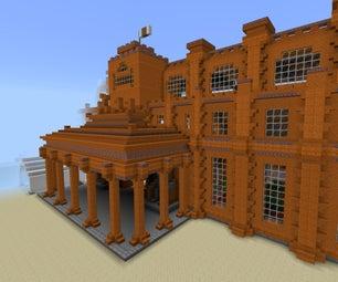 Minecraft - Sandstone Manor