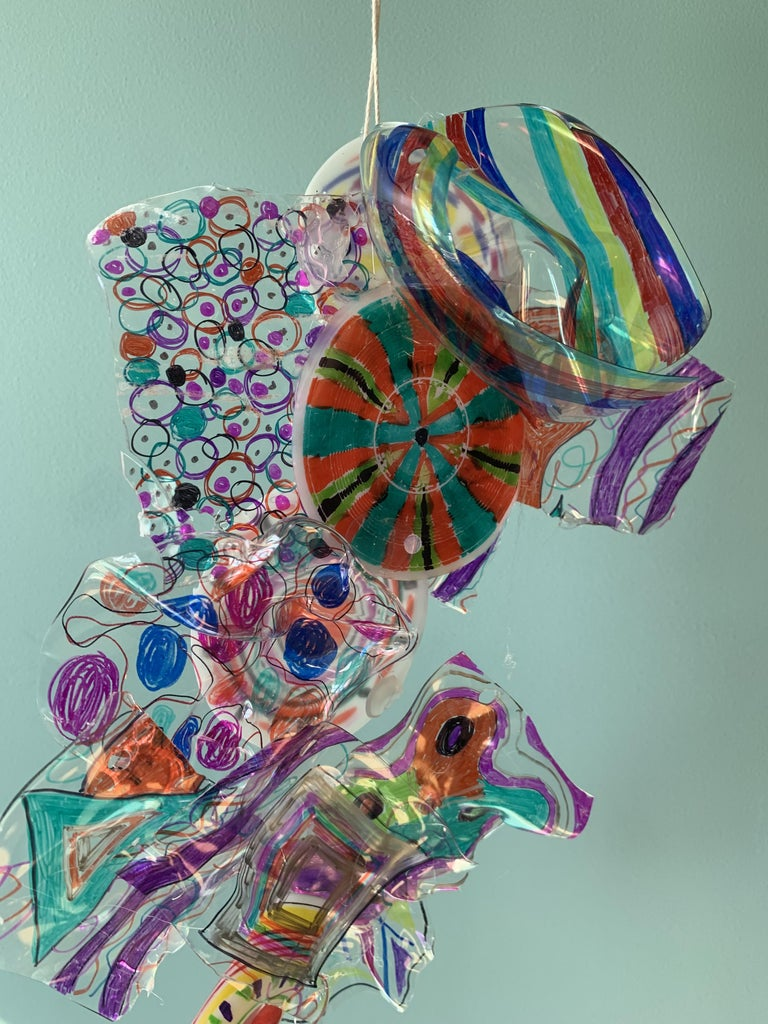 Chihuly-inspired Sculpture