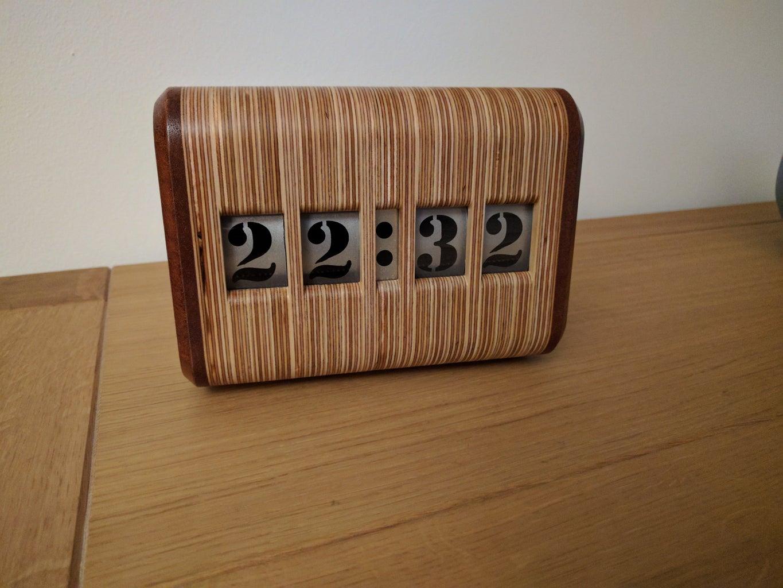 Retro Digital Clock