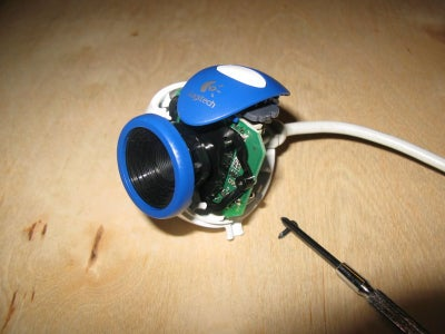 Attaching a Webcam to the Microscope