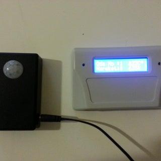 Cheap Wireless Motion Sensor Device