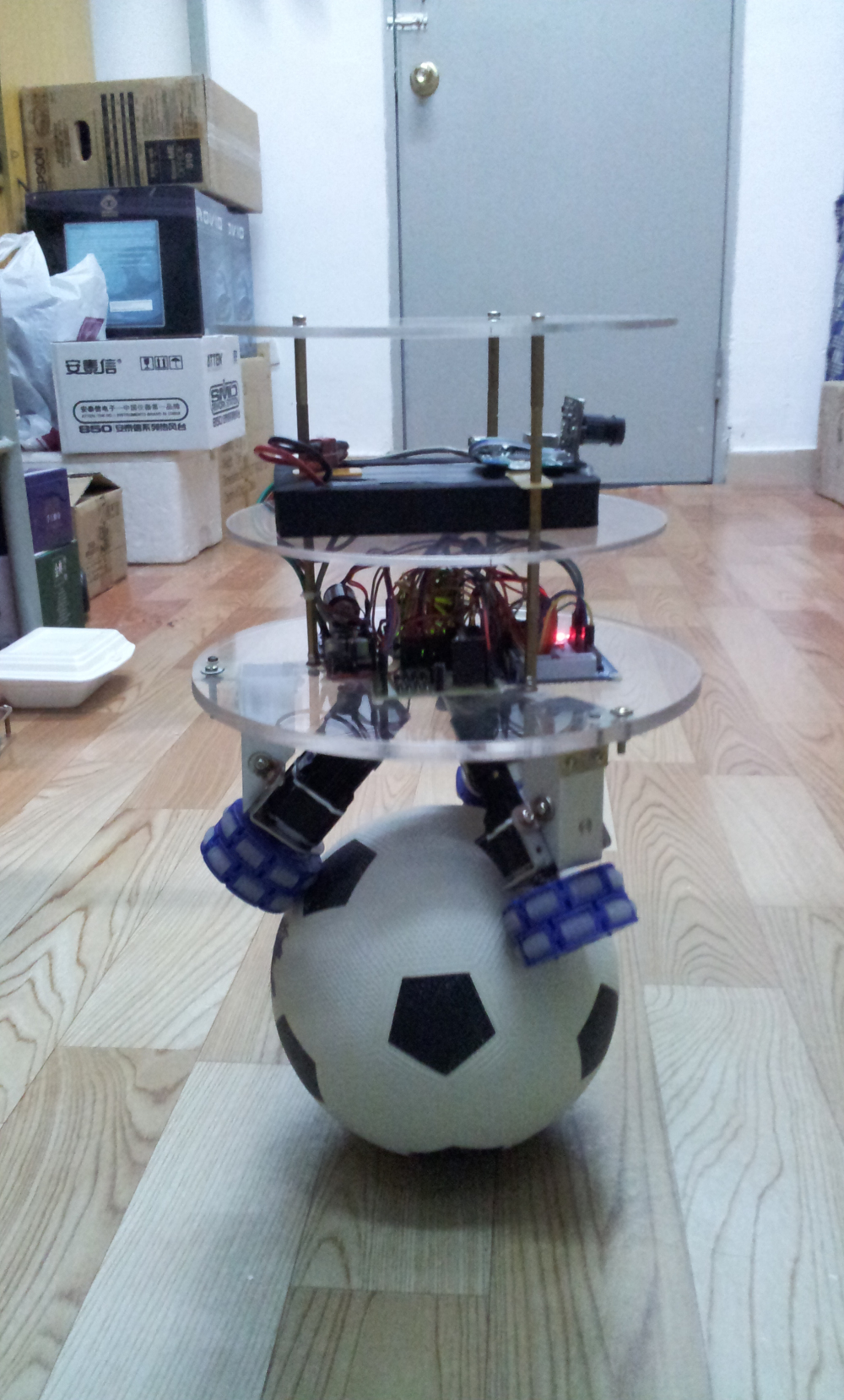 How to make a Ball Balancing Robot