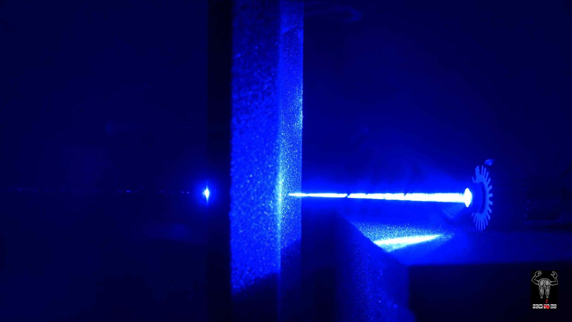 DIY 1w Burning Blue Laser