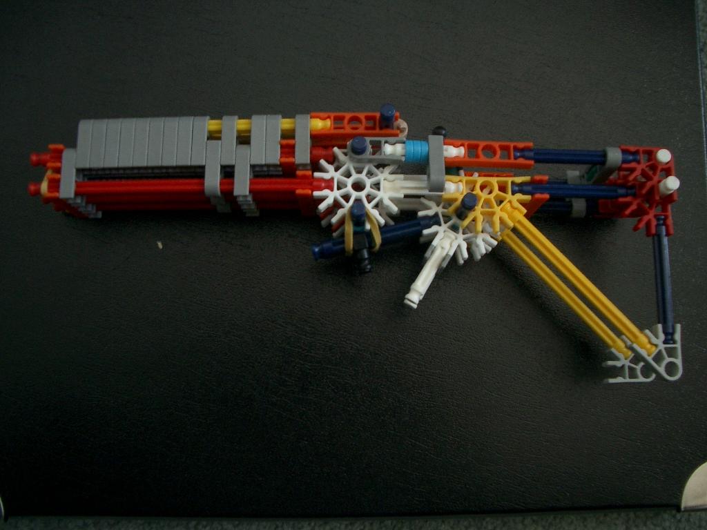Three Barrelled Knex Gun