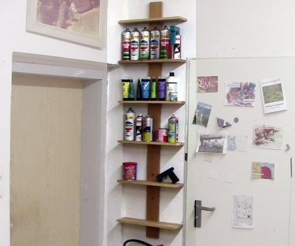 A Shelf With 1 Screw