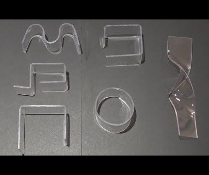 How to Bend Acrylic and Plexiglass - 3 Easy Ways