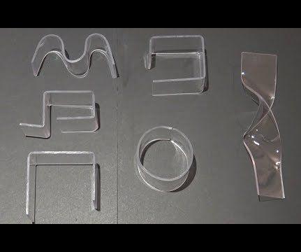How to Bend Acrylic and Plexiglass - 3 Easy Ways