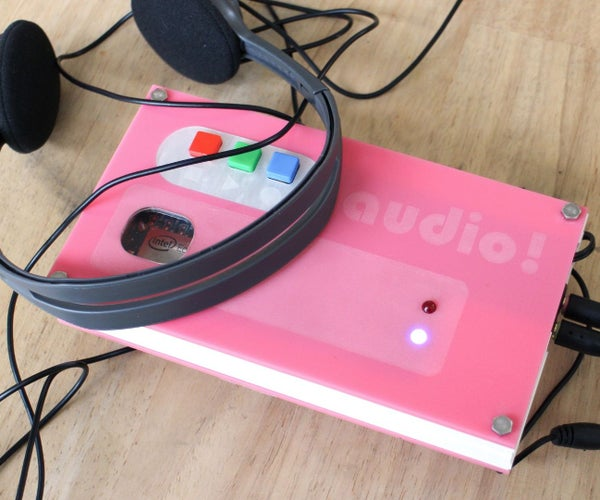 Audio Server and Recorder With Intel Edison