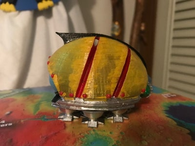 The Gadfly Inter-dimensional Ship
