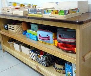 Kids' Storage Cabinet