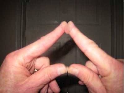 Your Valentine's Heart at Your Finger Tips (Optical Illusion)
