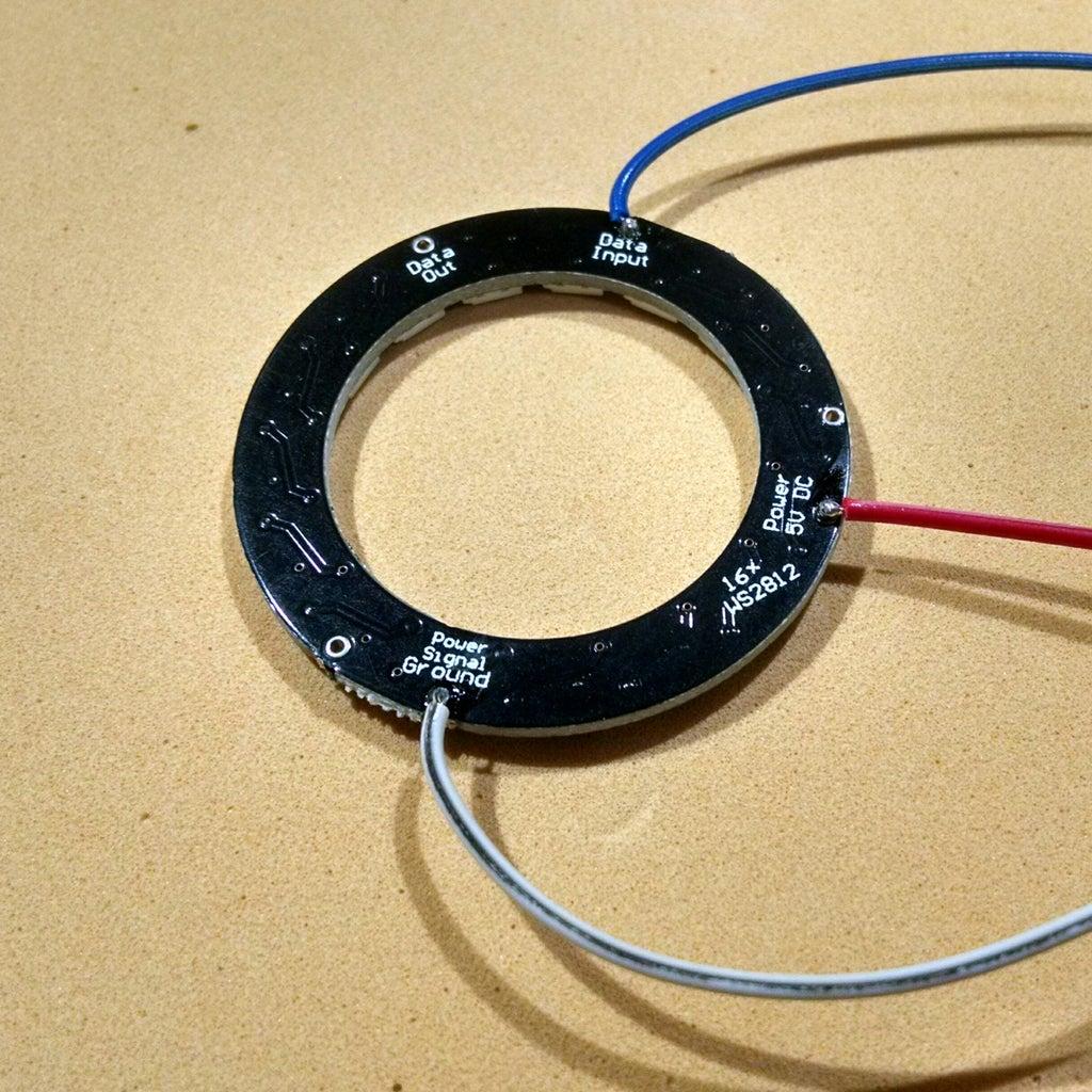 Preparing the NeoPixel Ring