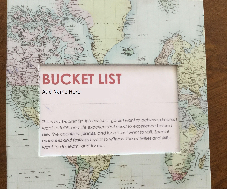 Bucket List Memories