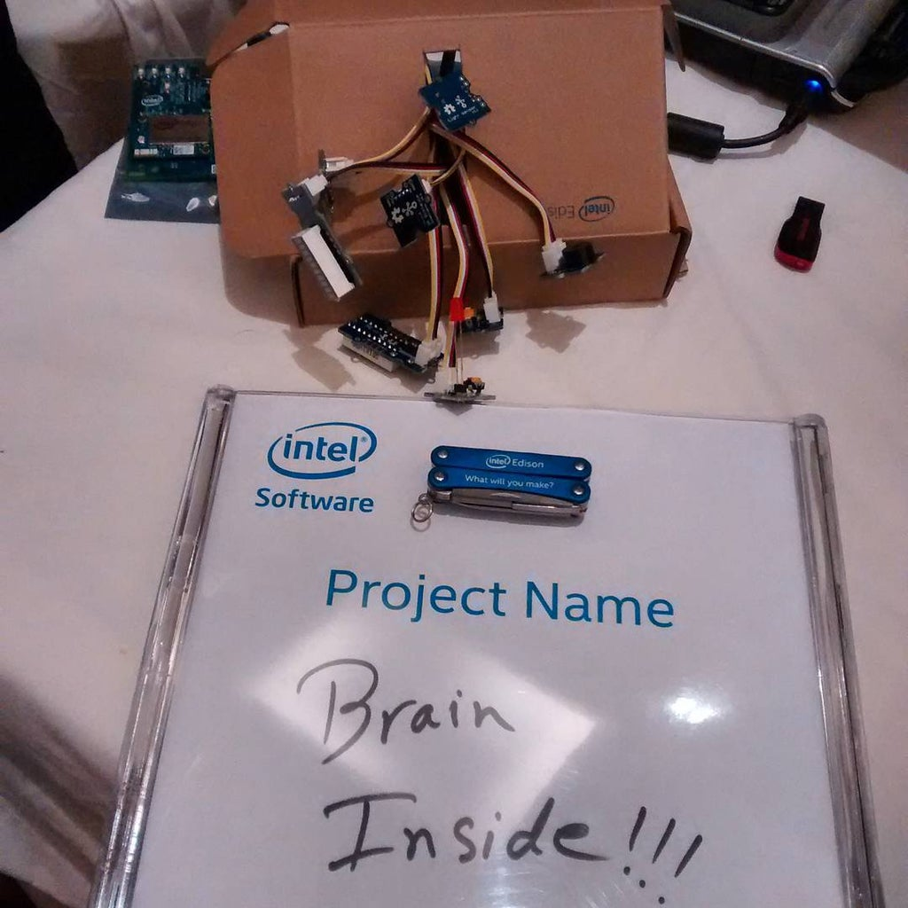 Brain Inside (Intel IoT)