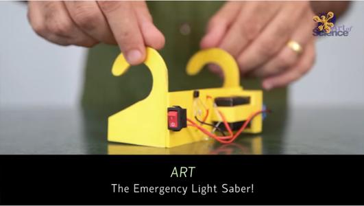 "ART ""The Emergency Light Saber"""