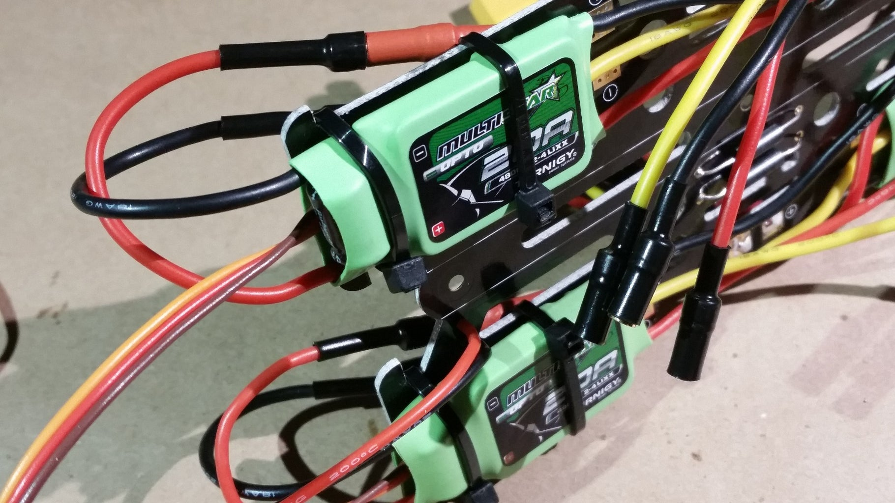Solder ESC Connectors to the Power Distribution Board