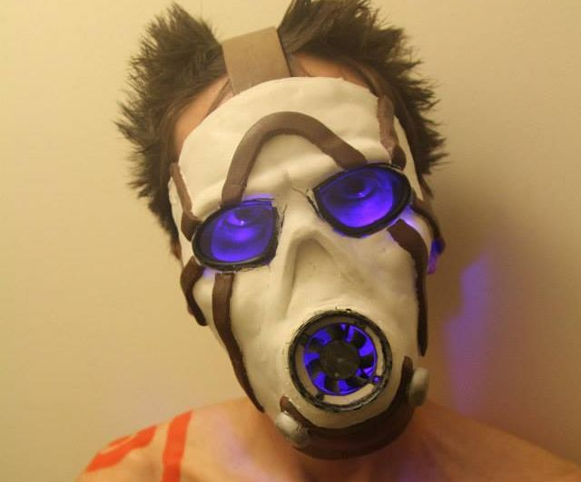 Borderlands Psycho Mask