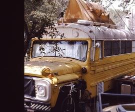 Tiny School Bus Home