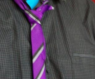 Customizing Your School Tie.