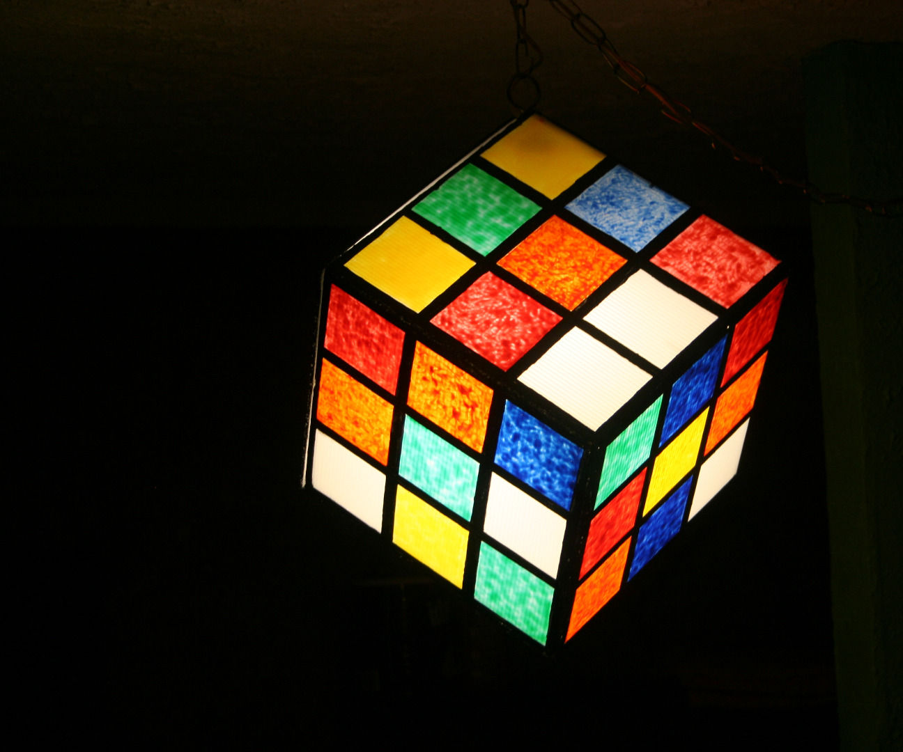 Cube Light ala Rubik Cube Light of Awesomeness