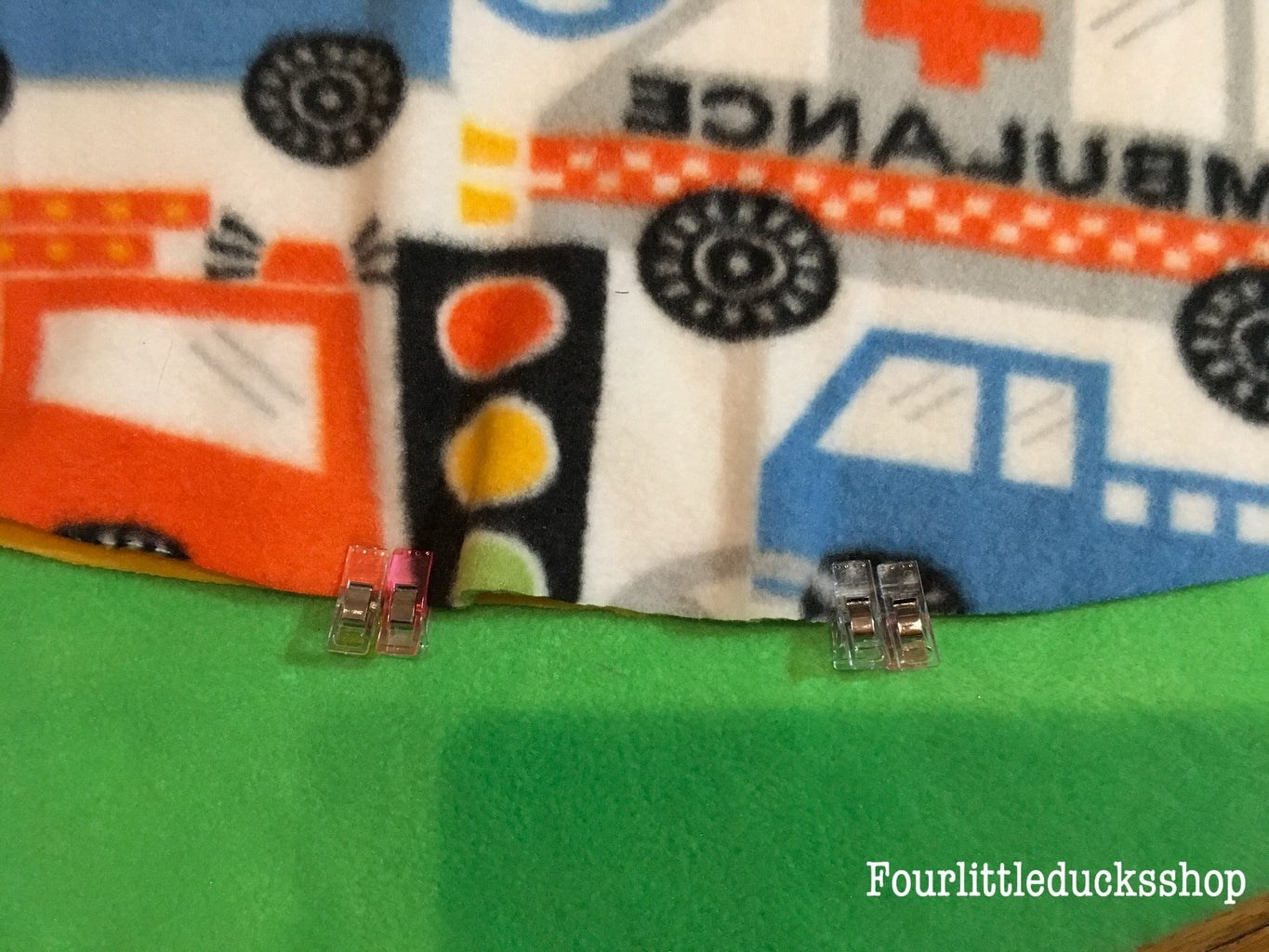 Sew the Lining and Main Pieces Together