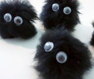 Soot Sprite Tutorial - From Spirited Away