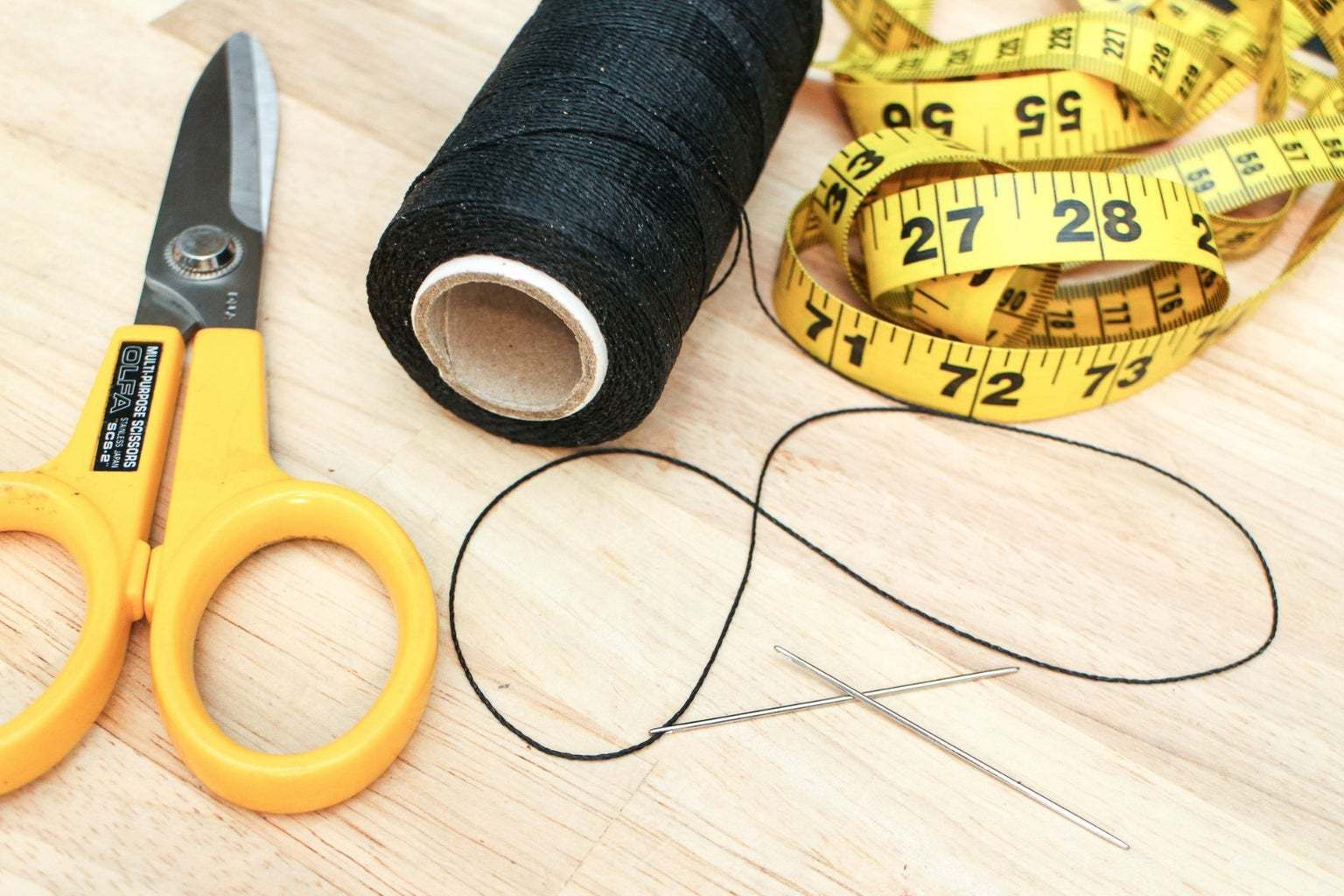 Prepping Your Needle and Thread