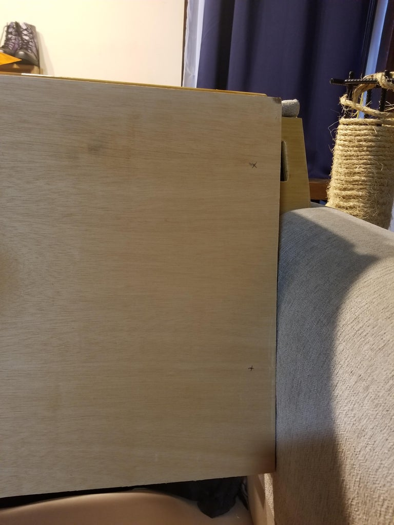 Making a Removable Cushion Backboard