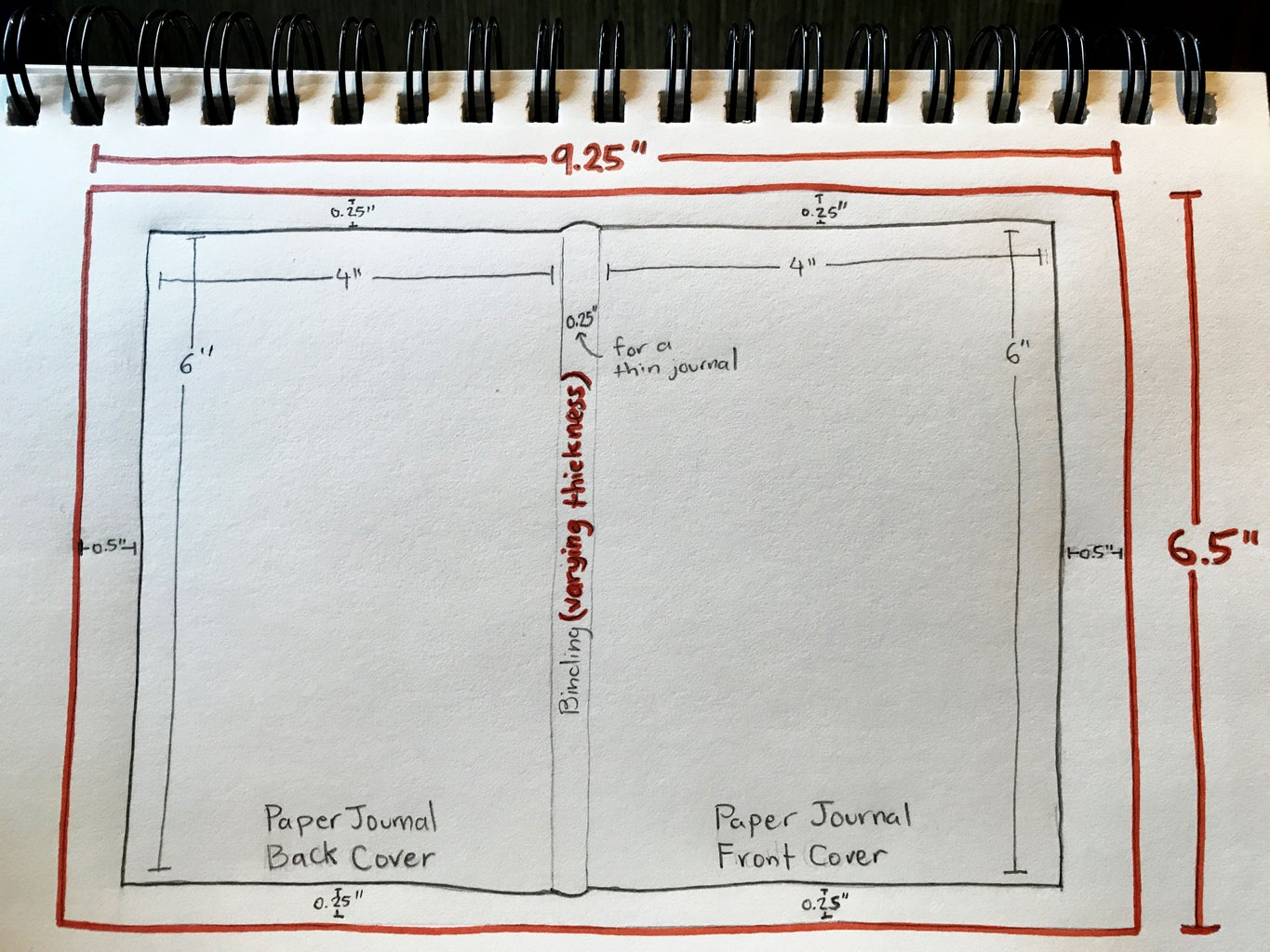 Measure & Cut Outer Cover Dimensions