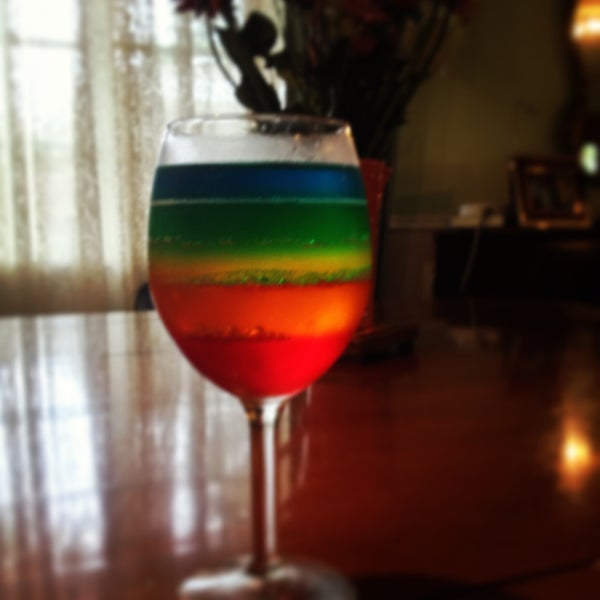 Rainbow in a Cup