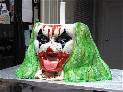 Paint the Clown's Head!