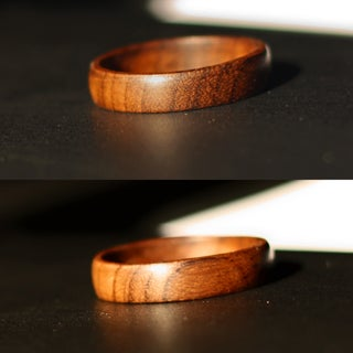 Handcrafted Wooden Ring!!! (EASY)