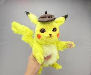 Pikachu Pokemon Art Doll Tutorial