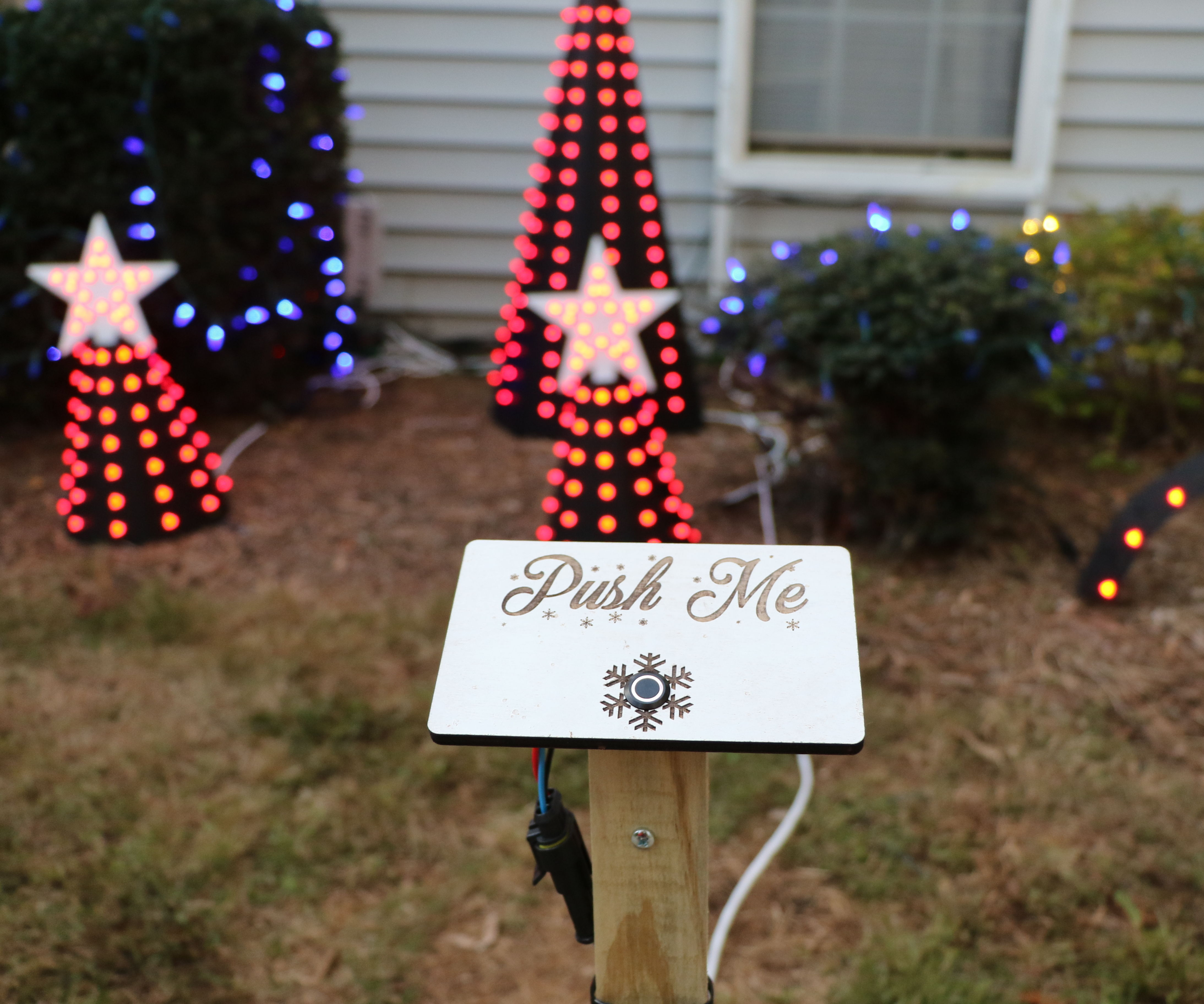 Start Your Christmas Light Show With a Button