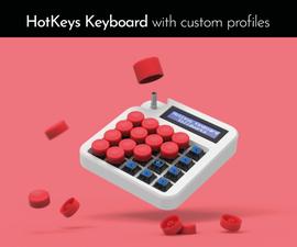 HotKeys Keyboard With Custom Profiles
