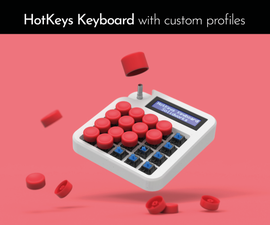 HotKeys Keyboard With Custom Profiles