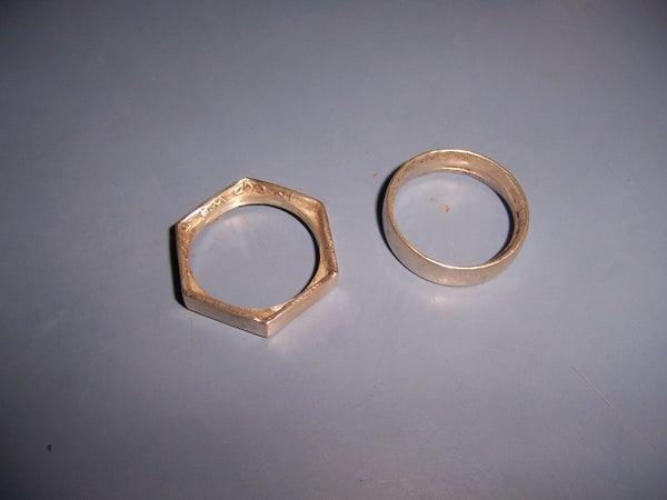 Hex Coin Ring