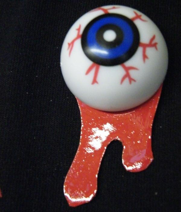 Bleeding Eyeball Badge