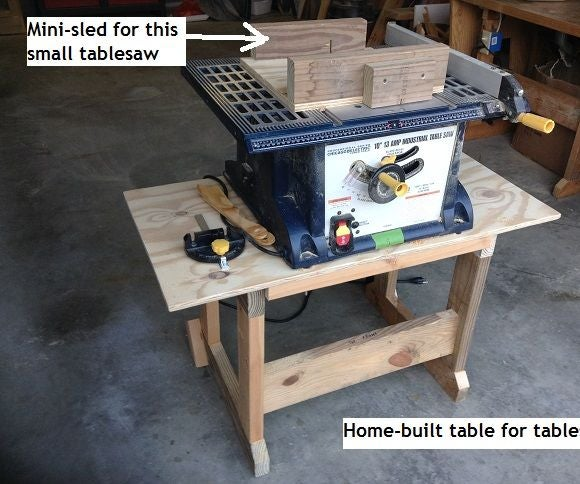 Table for a Cheap Tablesaw