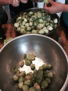 Pick Brussels Sprouts