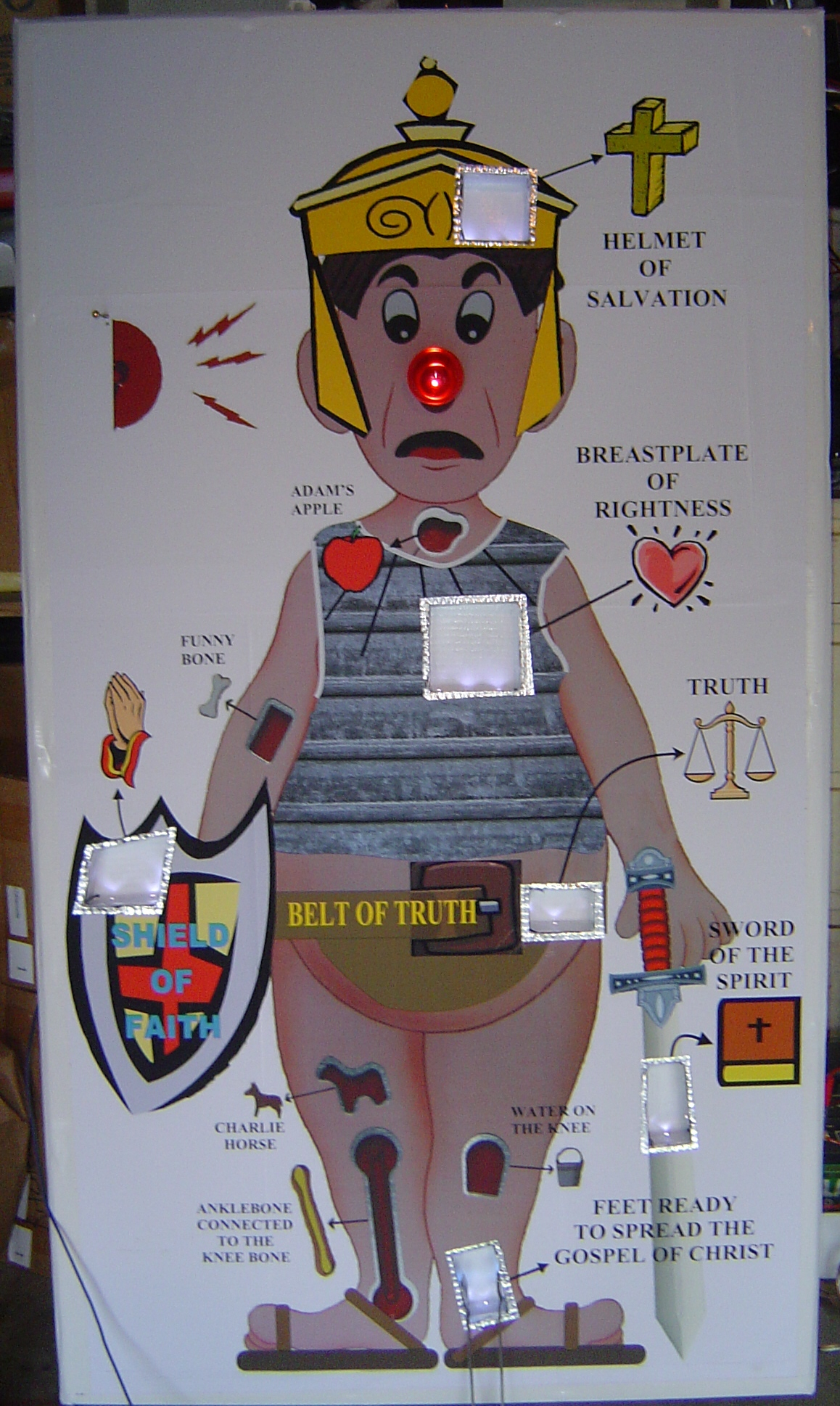 Life Size Operation Game